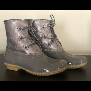 Silver Jack Rogers Duck Boots Size 7